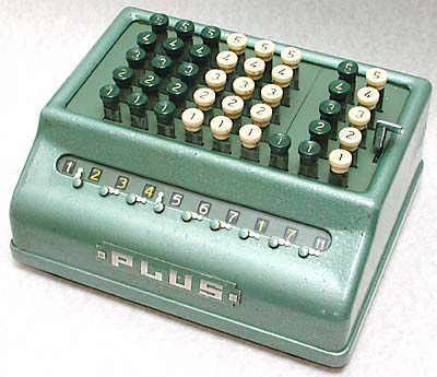 Plus 509/S adding machine