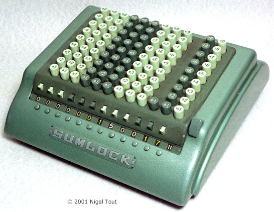 Sumlock 912/S adding machine