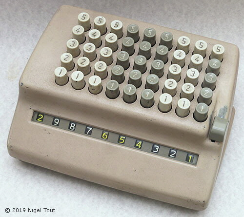 Sumlock Mechanical Calculators