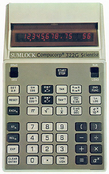Sumlock Compucorp 322G